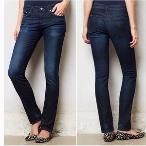 AG Adriano Goldschmeid Stevie Slim Straight Jeans